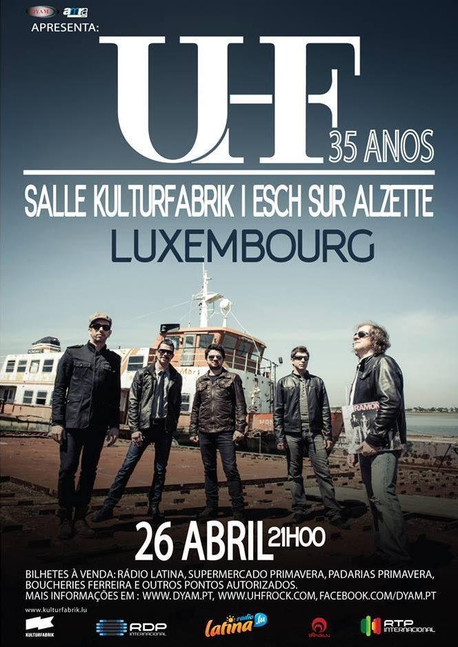 UHF 35 anos - Luxemburgo